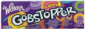 Wonka Gobstopper, Chewy, 1.77 Ounce Packets, 24 Count