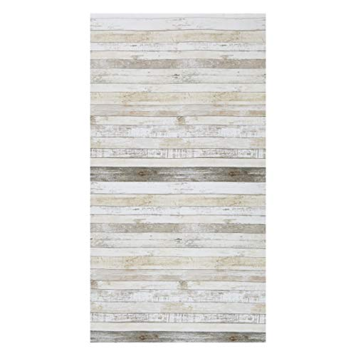 (Timeless Treasures Cotton Blossom Weathered Wood 24'' Panel Multi)