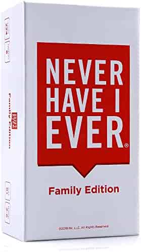 Never Have I Ever Family Edition – This is a Party Game About You, Your Family and Your Funny Life Stories