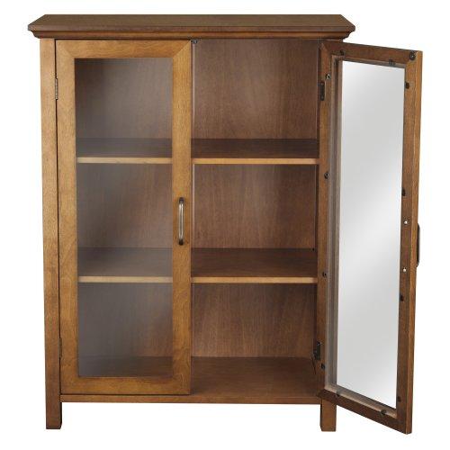 Elegant Home Fashion Anna Floor Cabinet with 2-Door