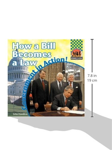 How a Bill Becomes a Law (Government in Action (Checkerboard Books))