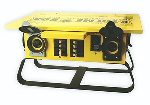 Southwire 1960 Xtreme Box Twist-Lock Portable Power Distributor