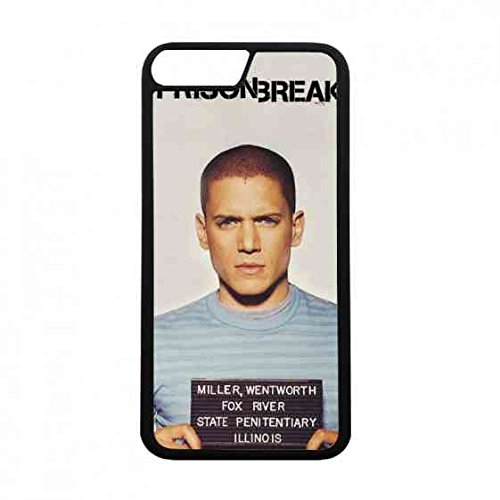 Price comparison product image Iphone 7 Case Cover,Prison Break Iphone 7 Case Cover,Iphone 7 Tpu Hardback Clear Protective Case Cover,Fox Paul Scheuring Prison Break Iphone 7 Case Cover