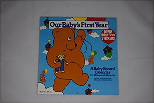 1983 Calendar India.Amazon In Buy Our Baby S First Year A Baby Record Calendar Book