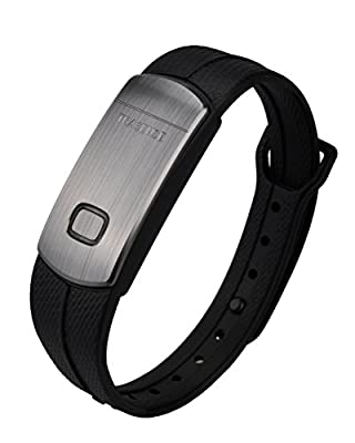 Trasense Waterproof Fitness Tracker Activity+ Sleep Monitor Pedometer Bracelet Wristband Compatible with iPhone IOS7.0+ and Android 4.3+ Phone