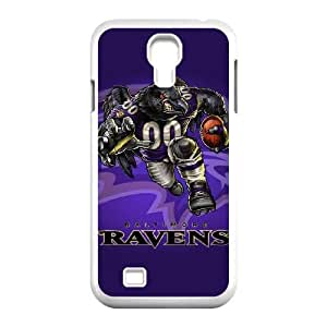 Samsung Galaxy s4 9500 White Cell Phone Case Baltimore Ravens NFL Phone Case Cover Personalized Design NLYSJHA0336