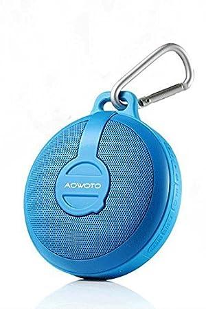 Red Drip-Dry Audio Docks & Mini Speakers Sound & Vision United Qube 2 Universal Bluetooth Pocket Speaker