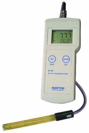 Milwaukee Mi106 Portable pH/ORP/Temperature Meter, -2.00 - 16.00 pH, +/- 0.02 pH Accuracy, 0.01 pH Resolution