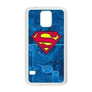 Superman Logo Samsung Galaxy S5 Cell Phone Case White phone component AU_477204