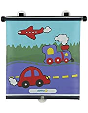 Safety 1st Deluxe Rollershade, 3 Fun Prints