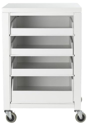 Amazon home decorators collection martha stewart living153 home decorators collection martha stewart living153 craft space cart with pull out trays 31quot watchthetrailerfo