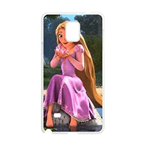 Tangled Samsung Galaxy Note 4 Cell Phone Case White D4620980