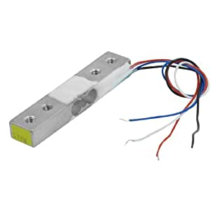 Aluminum Electronic Scale Weighing Load Cell 0-1Kg 45x9x6mm