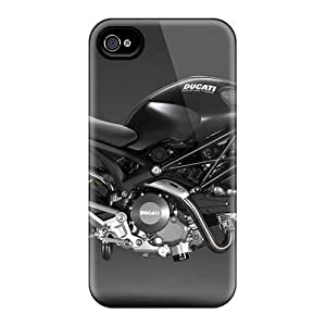 TYH - Hot Ducati Monster First Grade Tpu Phone Cases For ipod Touch4 Cases Covers ending phone case