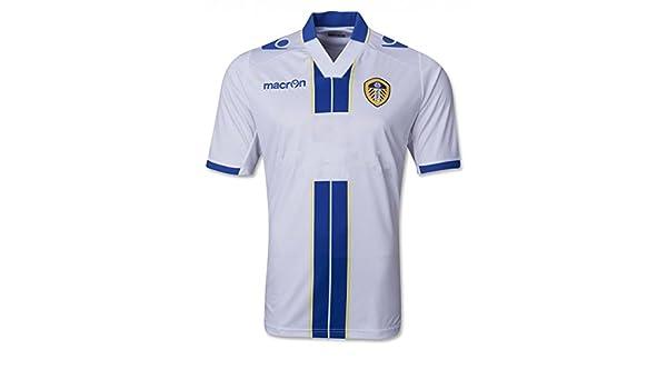 Macron Leeds United Camiseta casa 2013/14 M, Blanco: Amazon.es ...