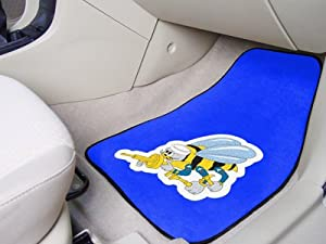 Fanmats Military 'Navy' Nylon Face Carpet Car Mat by FANMATS