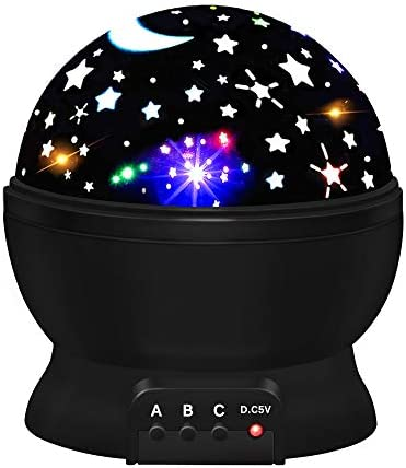 ATOPDREAM Amusing Moon Star Projector Light for Kids – Festival Gifts