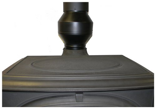 Draw Collar - 6 Inch Wood Stove Electric Pipe Draft Booster by Draw Collar