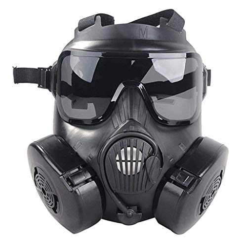 TSenTr CS Masks - Full Face Respirator M50 Gas Mask Protection Medium Masks for Military Enthusiasts ()