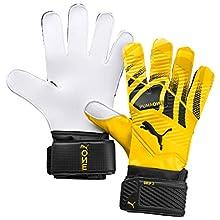 PUMA One Grip 3 RC Guantes De Portero, Unisex-Adult, Ultra Yellow Black White, 11
