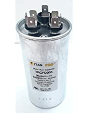 Packard TRCFD305 30+5MFD 440/370V Round Capacitor