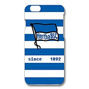 Famous Design FC Hertha BSC Theme Football Club Phone Case Cover For Iphone 6/6S 3D Plastic Phone Case