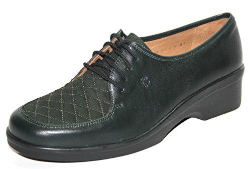 Ganter, Scarpe stringate donna Verde Verde 38