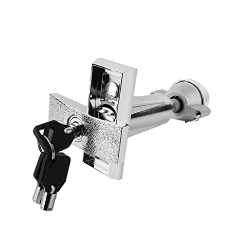 Fityle Snack Beverage T Handle Vending Machine Lock Cabinet Plug Lock with 3 keys