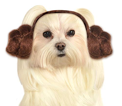Star Wars Dog Headband Princess Leia Buns,