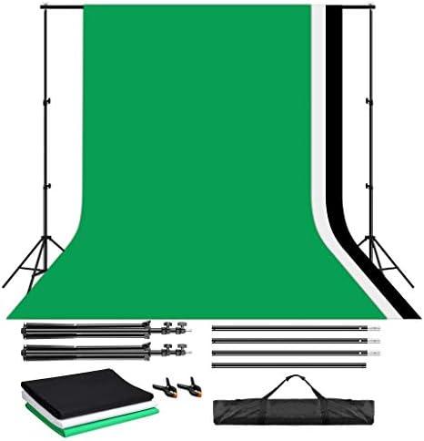 Craphy Hintergrund Set 2x3m Hintergrundsysteme Mit 3x Kamera