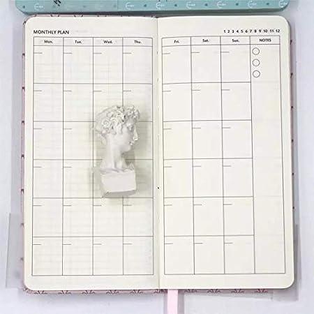 Amazon.com: Weeks - Planificador de papel para calendario de ...