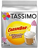Tassimo Carambar Caramel Drink Coffee Capsules T-Discs / 16 Discs - 8 Servings