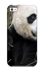 Hard Plastic Iphone 5c Case Back Cover,hot Panda Bears Case At Perfect Diy