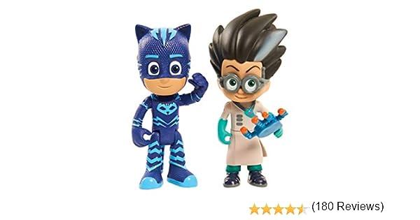 Figuras PJ Masks: 2 unidades, Cat Boy y Romeo , Modelos/colores ...