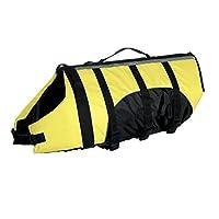 "Guardian Gear Aquatic Preserver para perros, 20 ""grande, amarillo"