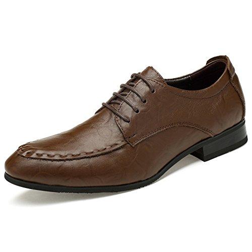 De Zapatos Hombre De Marrón Casual Tamaño Casual Negocios De Tamaño Casual Calzado d192a1