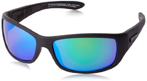 Pepper's Cutthroat FL7344-81 Polarized Sport Sunglasses,Matte Black,One - Cambridge Sunglasses