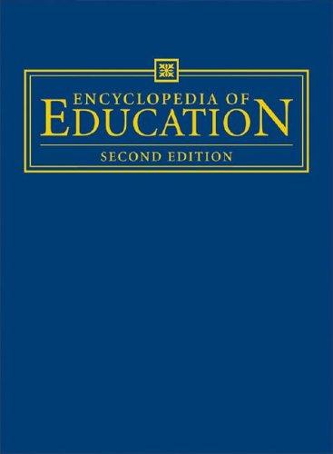 Encyclopedia of Education (8 Volumes) ebook