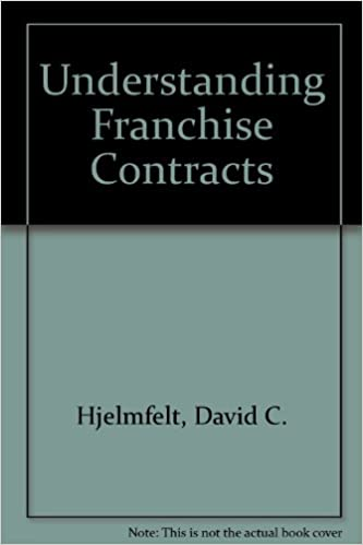 Buy Understanding Franchise Contracts Book Online At Low Prices In