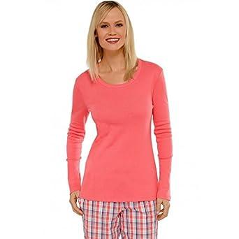 Schiesser Women s Nightdress Sleep Shirt Plain Mix   Relax - Pink ... ba2debdef