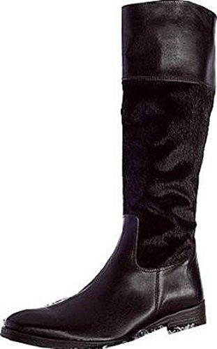 Marrón Cuero 36 Talla Apart Botas Stiefel Color Mujer Para De qSnt70Atwx