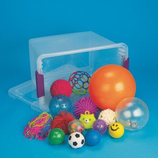 Multi Sense-ational Ball Easy Pack by S&S Worldwide (Image #1)