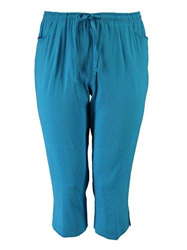 Sempre piu - Pantalón - para mujer 23 türkisblau