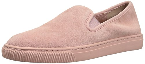 (206 Collective Women's Cooper Perforated Slip-on Fashion Sneaker, Rose Suede, 6.5 B US)