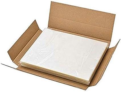 trasparente formato A4 Buste per plastificazione 80 micron impermeabile A4 216x303mm Confezione da 500 pezzi. lucide infrangibile carta termica per laminazione 216x303mm