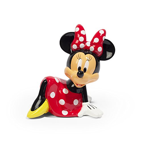 Disney Minnie Mouse Ceramic Coin Bank (Banks Piggy Disney)