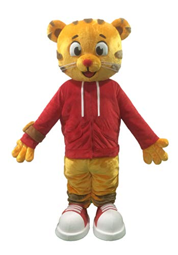 Adults Daniel Tiger Mascot Costume for Party Cartoon Character Mascot Costumes]()