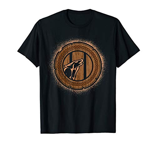 , Norse Mythology Fenrir T-Shirt