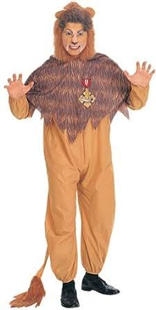 Wizard Of Oz Cowardly Lion Costume, Orange/Brown