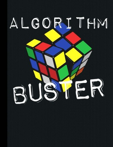 Read Online Algorithm Buster Puzzle Cube Low Vision Composition Book: 160 Pages, 1/2 Inch Dark Lined Paper ebook
